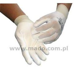 Rękawice White Flex PHU nylon 172