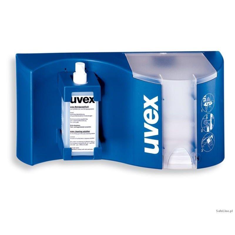 Stacja sanitarna do przemywania okularów UVEX 9970.002