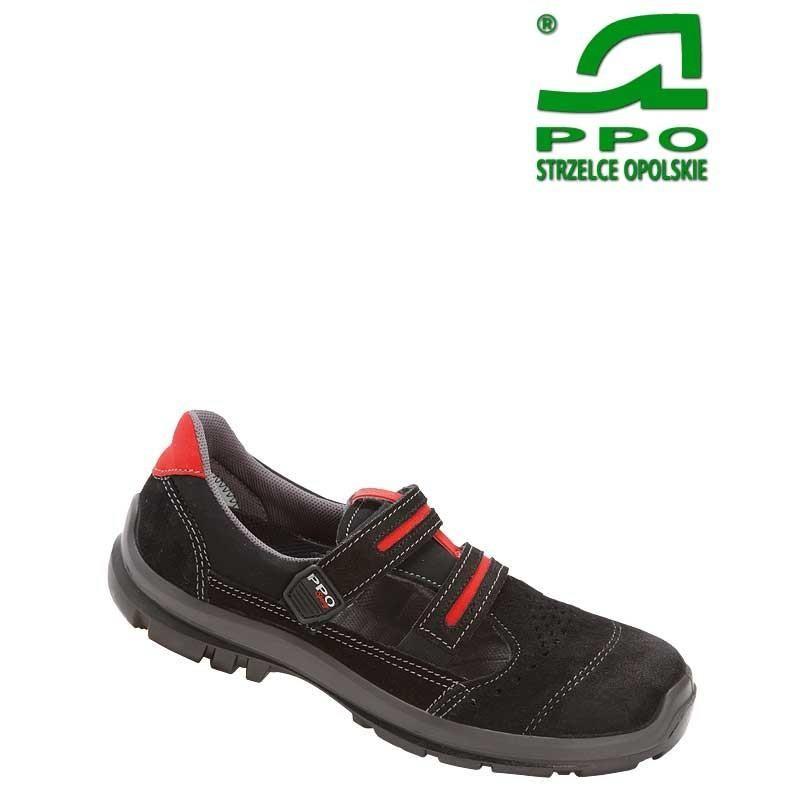 Sandały bezpieczne z podnoskiem kompozytowym i niemetalową wkładką antyprzebiciową wz.501