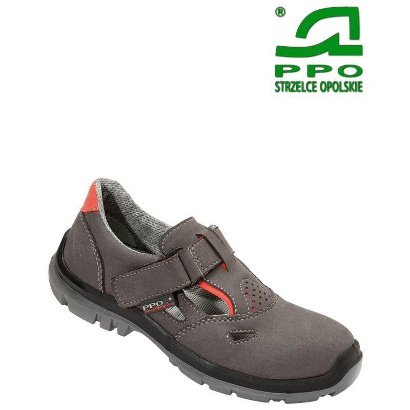 Sandały bezpieczne z podnoskiem kompozytowym i niemetalową wkładką antyprzebiciową wz.551