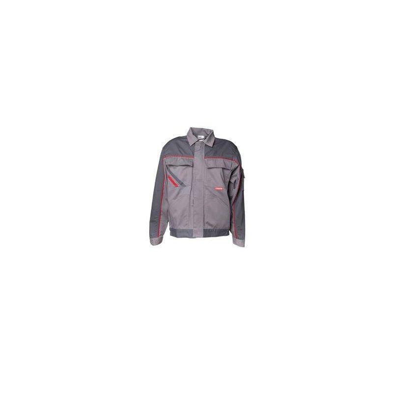 HIGHLINE Bluza robocza PLANAM /cynkowo -łupkowo-czerwony/