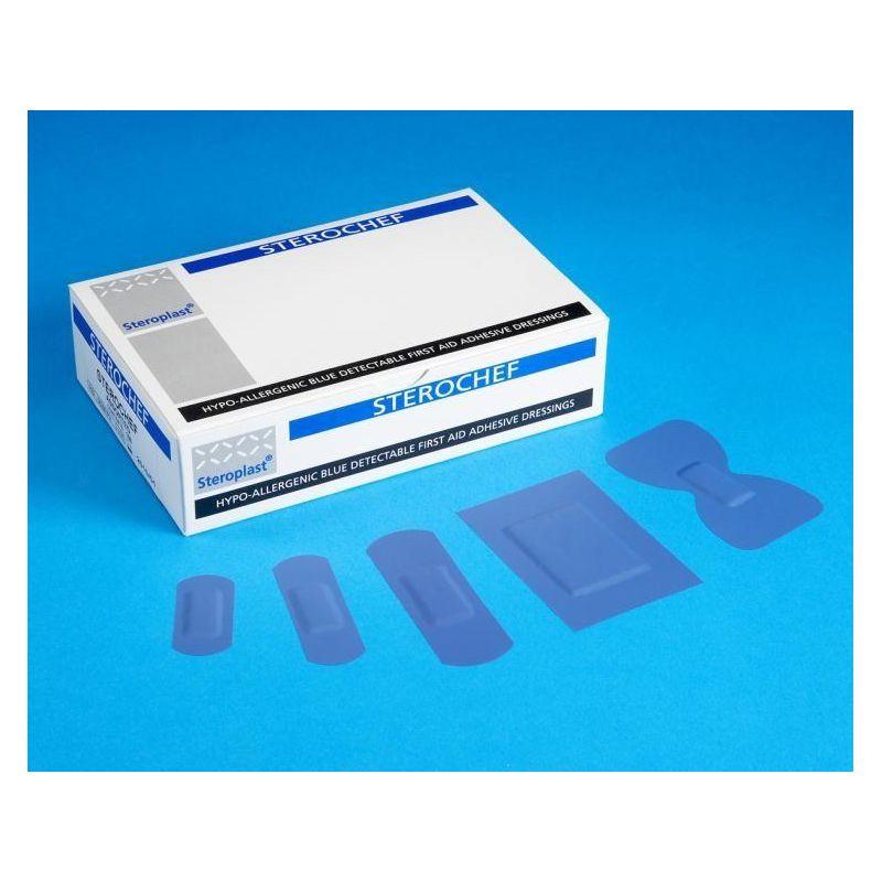 Plaster wykrywalny Sterochef mix 5/100 szt 21.20.24.0