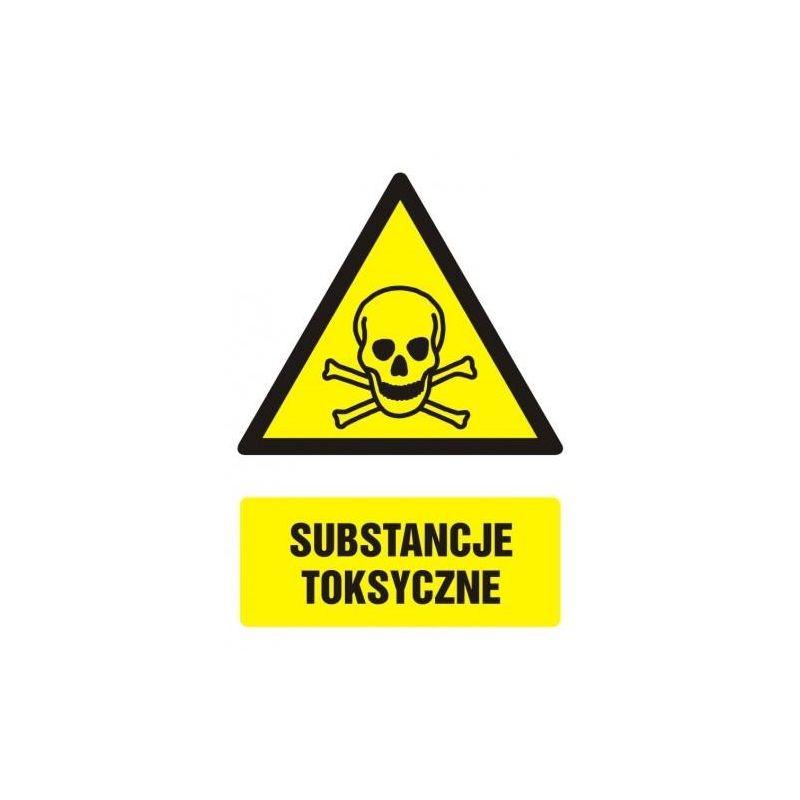 Substancje toksyczne.Płyta  21x29,7