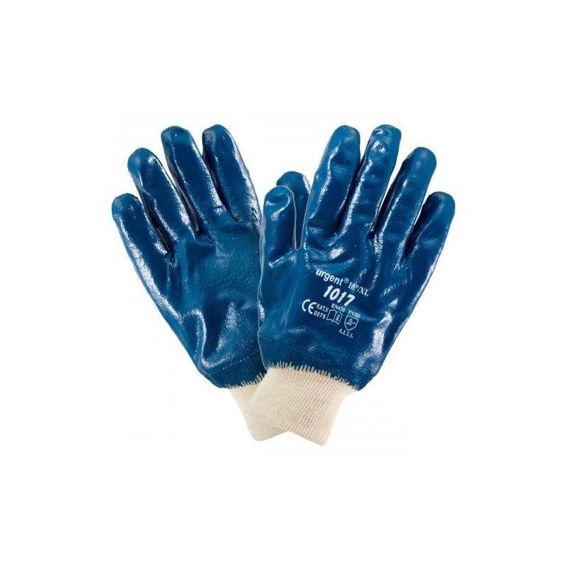 Rękawice pokryte nitrylem ze ściągaczem URGENT 1017