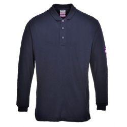 Koszulka polo trudnopalna, antystatyczna FR10