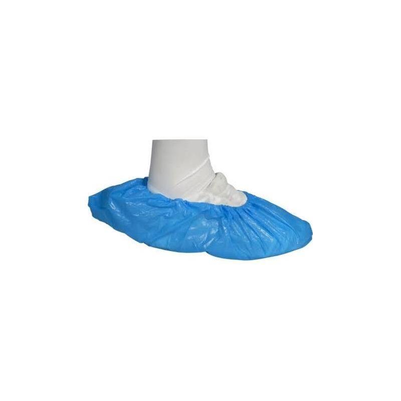 Osłony foliowe na obuwie niebieskie a'100