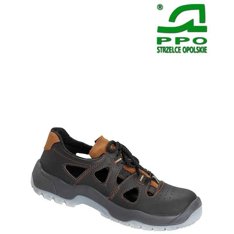 Sandały bezpieczne z metalowym podnoskiem wz.52