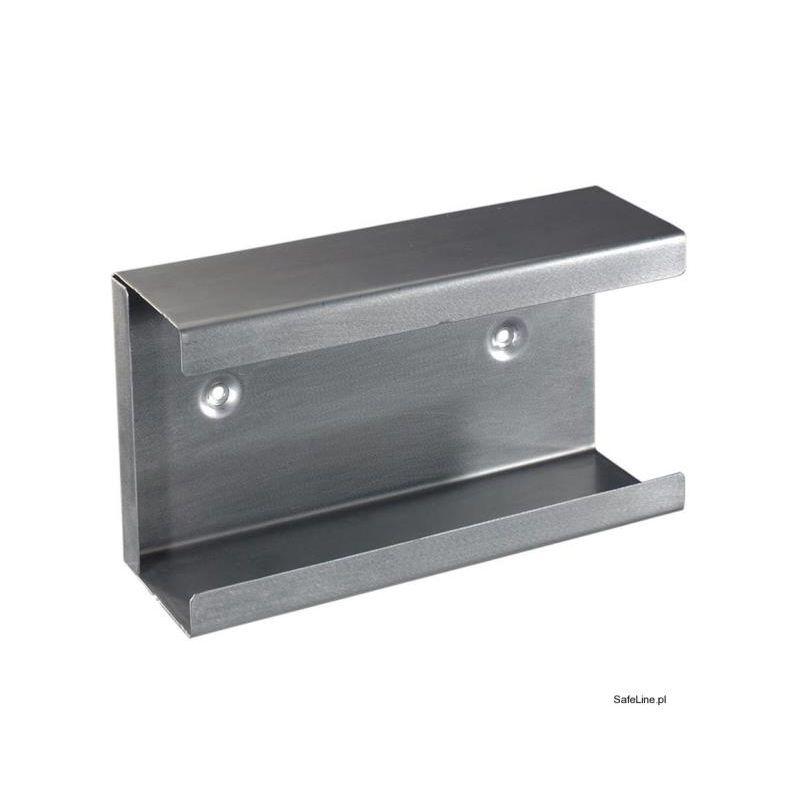 Podajnik na 1 opakowanie rękawic ze stali nierdzewnej /pakowane z boku/