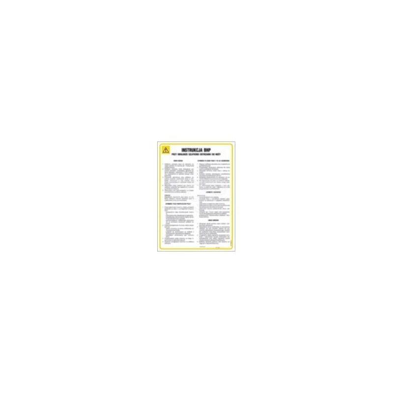 Instrukcja ogólna dla pomieszczeń administracyjno -biurowych. Płyta elastyczna 24,5x35 cm